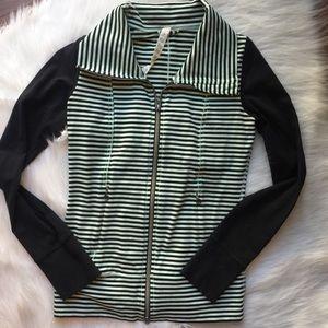 Fitted Lululemon Striped Jacket